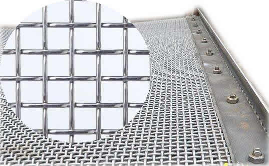 Crimped Mesh - Mining Screen and Shale Shaker Screen