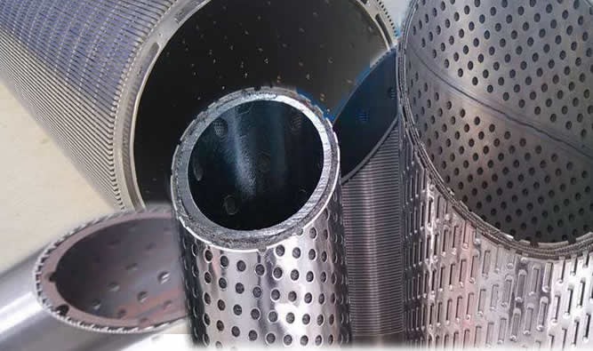 Laser Slotted Well Screen Liner Pipes Casings